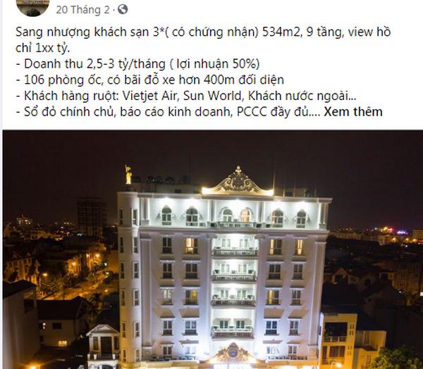 Giữa dịch Covid-19: Sang nhượng 2 khách sạn hơn 70 phòng với giá 0 đồng tại Hà Nội - 2