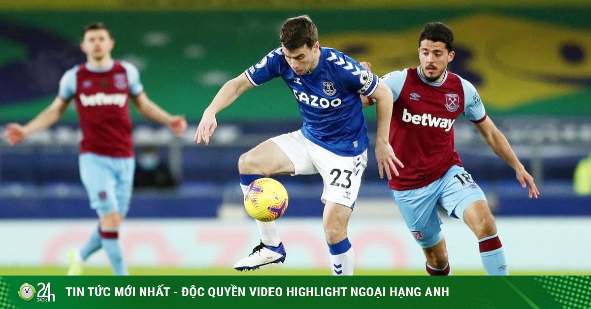Trực tiếp bóng đá Everton - West Ham: Không kịp nữa rồi (Hết giờ)