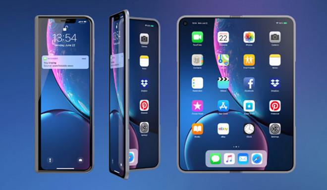 Apple phát triển ít nhất 2 mẫu iPhone với màn hình kép - 1