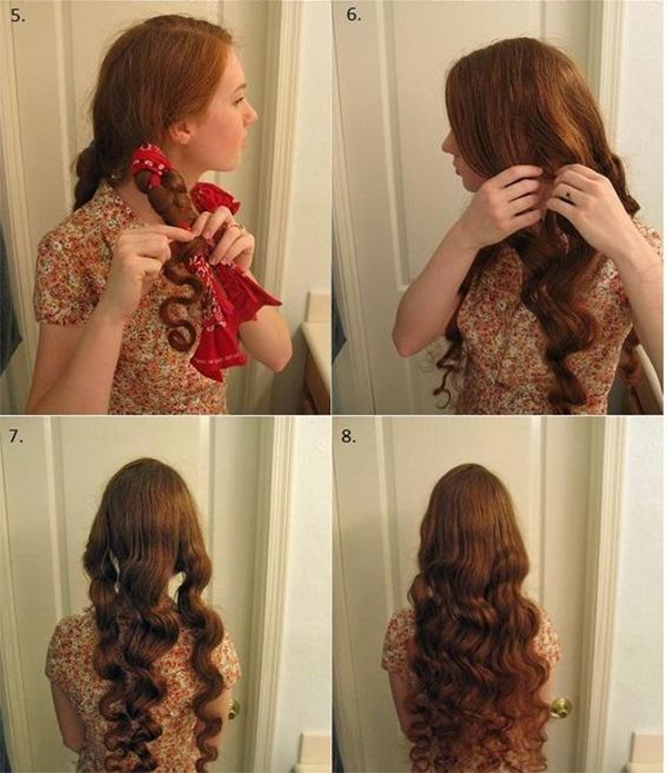 10 Cách làm tóc xoăn tự nhiên không cần máy đơn giản dễ thực hiện tại nhà - hình ảnh 4