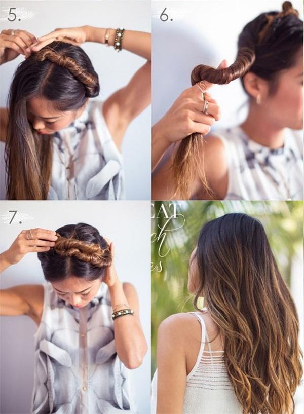 10 Cách làm tóc xoăn tự nhiên không cần máy đơn giản dễ thực hiện tại nhà - hình ảnh 6