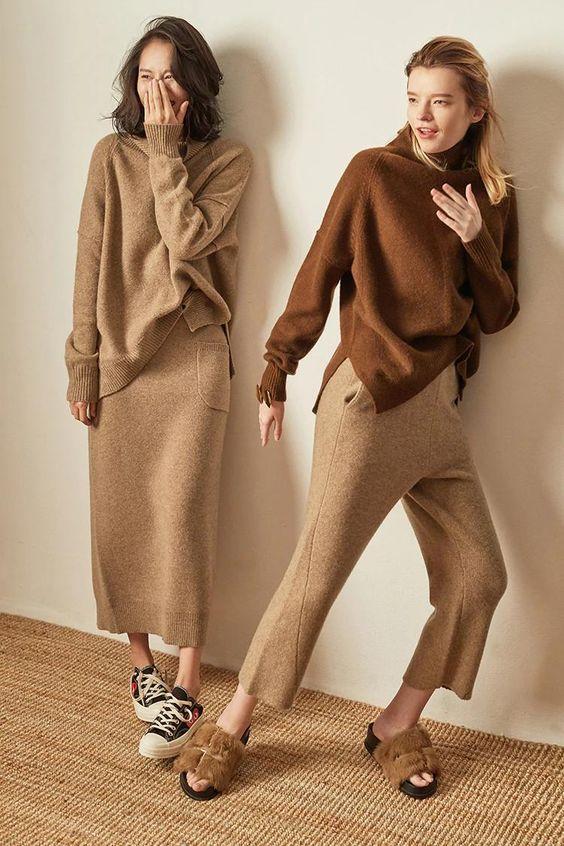 Len cashmere và len wool: Lựa chọn nào tốt hơn cho những ngày lạnh - hình ảnh 2