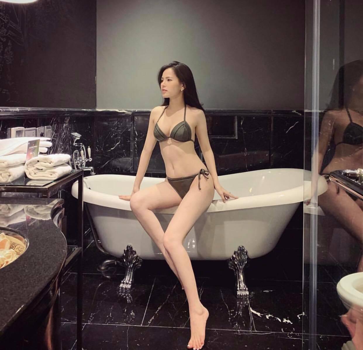 """2 năm rồi """"thánh nữ"""" Phi Huyền Trang mới khoe body với bikini, tiết lộ vóc dáng thực tại - hình ảnh 3"""