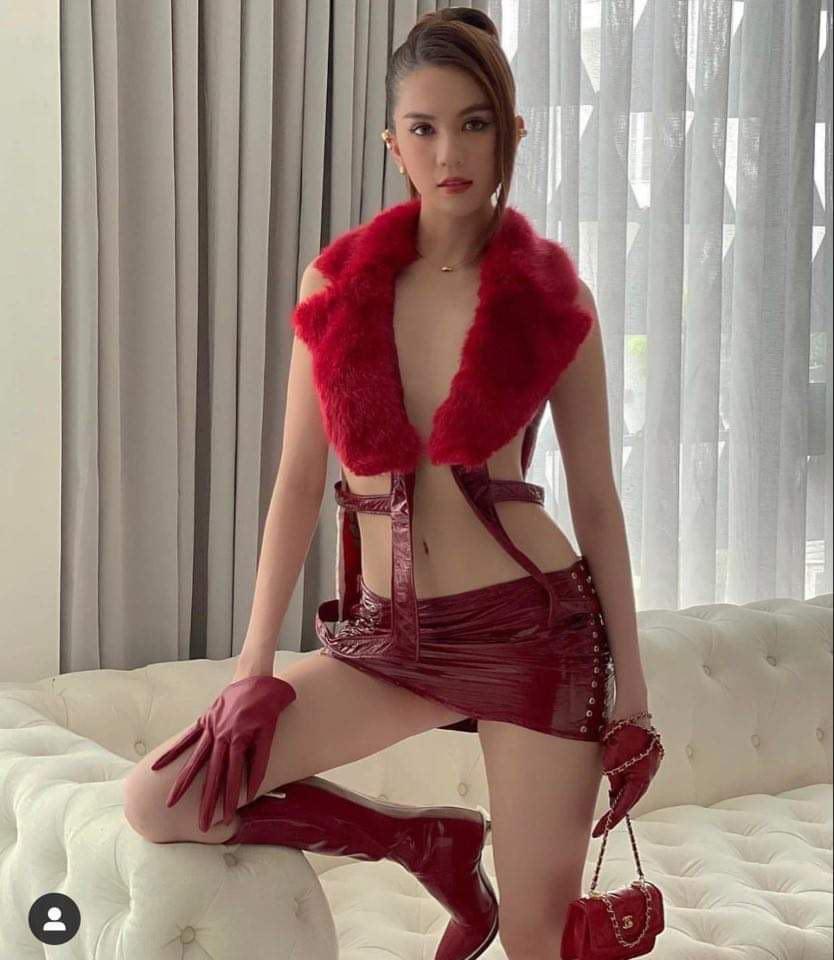 """Mặc lông thú nguyên con, """"thả rông"""" choàng khăn lông… khiến người đẹp Việt bị la ó - hình ảnh 6"""