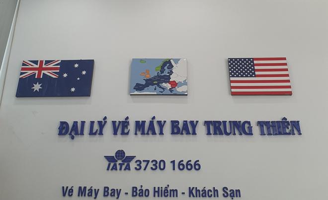 Trung Thiên - Đại lý bán vé máy bay giá rẻ uy tín - 1