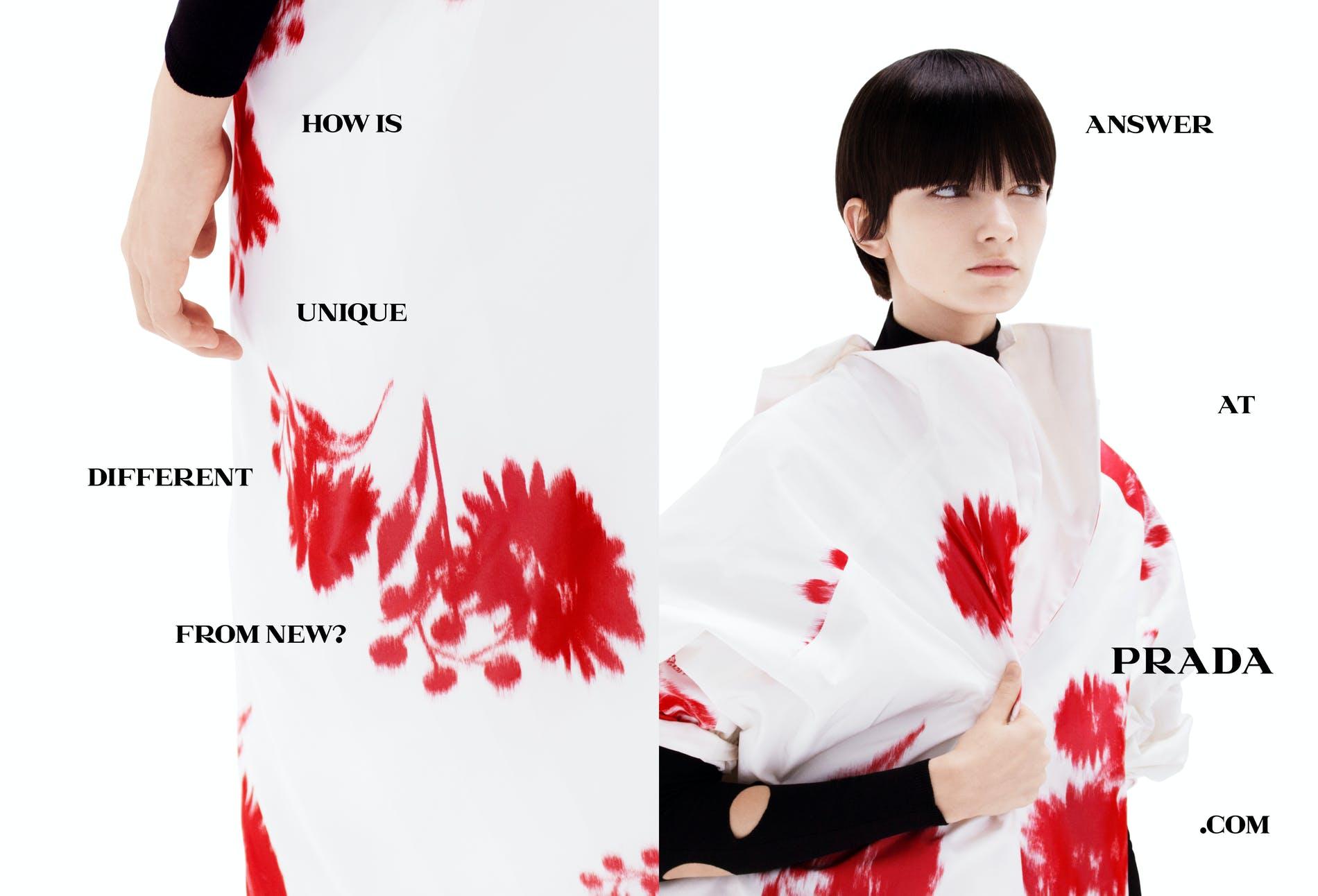 Chiến dịch thời trang Xuân Hè 2021 của Prada: Khi con người trò chuyện cùng máy móc - hình ảnh 2