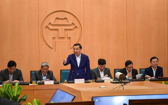 Chủ tịch TP.Hà Nội ra công điện khẩn phòng, chống dịch COVID-19 - hình ảnh 1