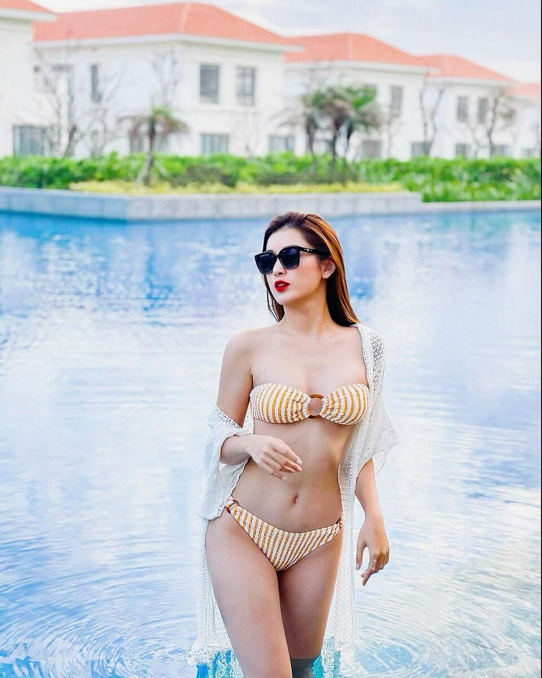 """Cô gái Việt được báo xứ Trung tung hô có khuôn ngực đẹp như """"đệ nhất vòng 1"""" nước này - hình ảnh 4"""