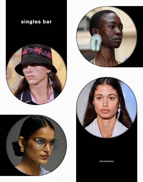 Xu hướng trang sức: Năm 2021 đeo bông tai đơn mới là mốt - hình ảnh 1