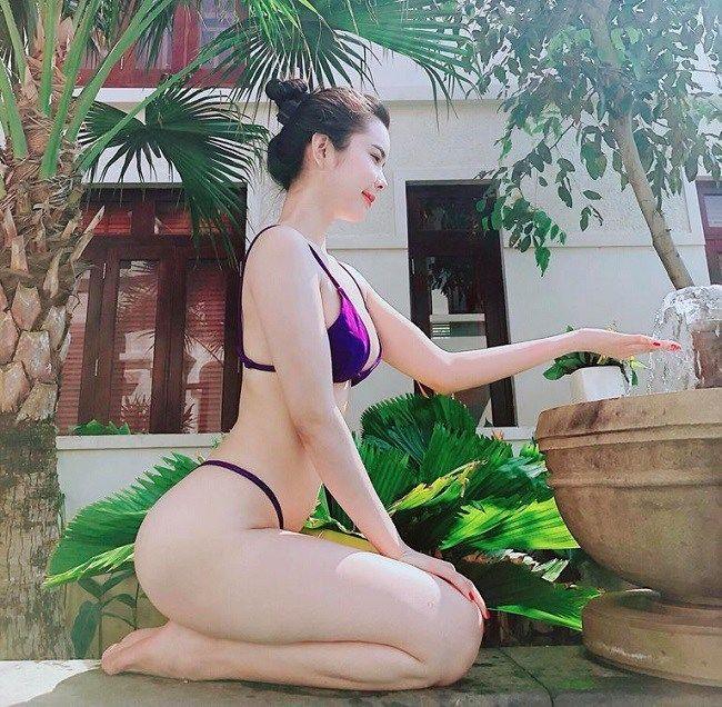 Hoa hậu Đồng Tháp chuyên trị đồ bơi cut out từ đời thực lên phim - 4