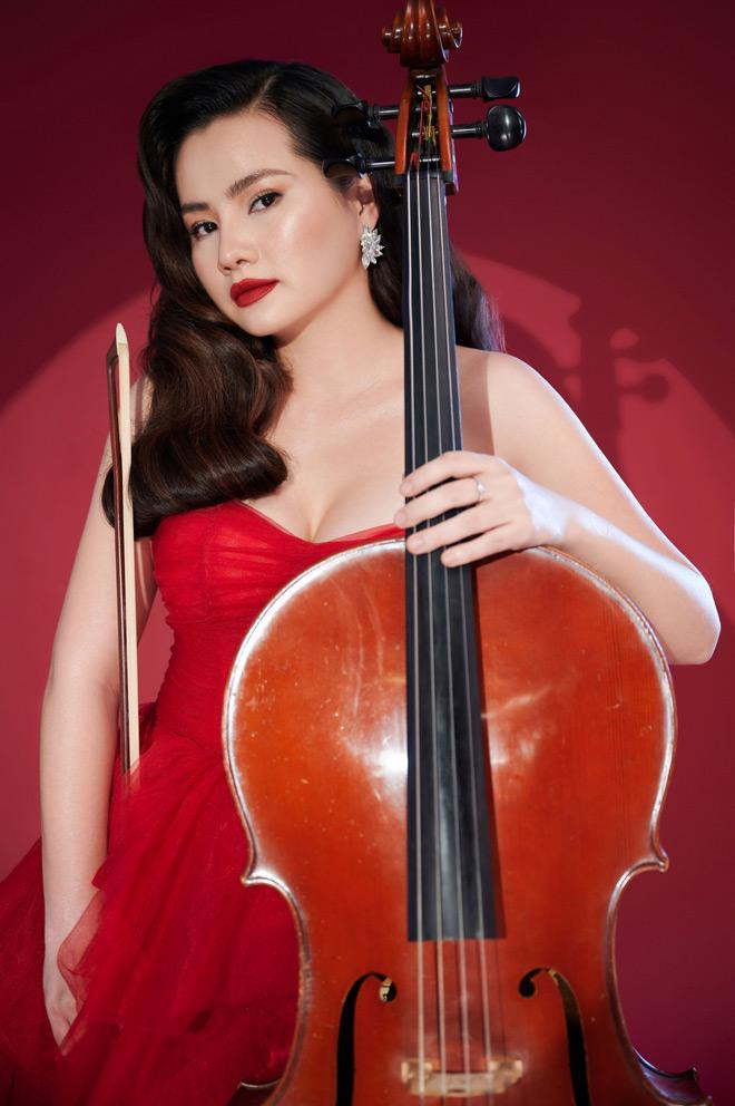 """Nữ diễn viên """"Tết này ai đến xông nhà"""" là nghệ sĩ cello nổi tiếng, con nhà nòi - hình ảnh 2"""
