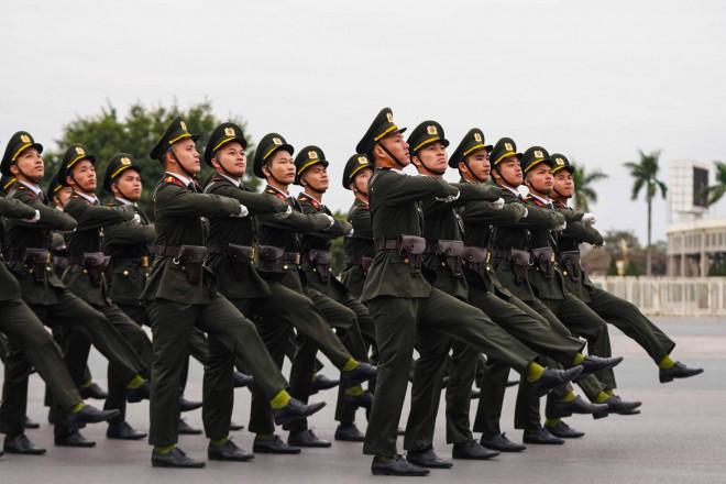 Cận cảnh diễn tập chống khủng bố bảo vệ nguyên thủ, bảo vệ Đại hội Đảng XIII - 4