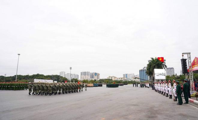 Cận cảnh diễn tập chống khủng bố bảo vệ nguyên thủ, bảo vệ Đại hội Đảng XIII - 2
