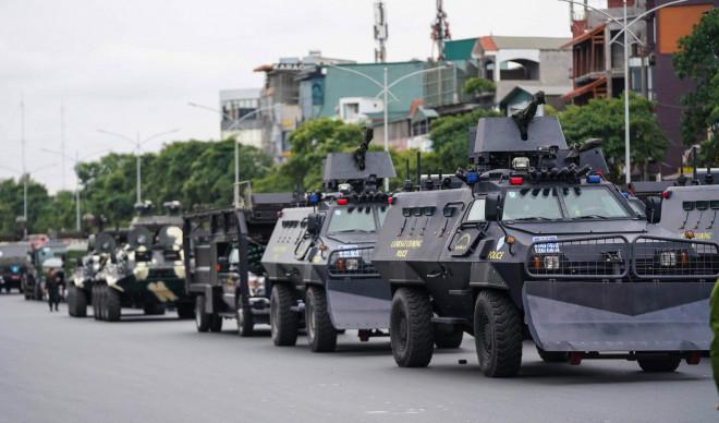 Cận cảnh diễn tập chống khủng bố bảo vệ nguyên thủ, bảo vệ Đại hội Đảng XIII - 6
