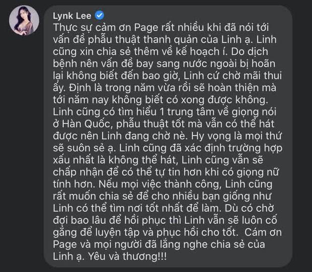 Lynk Lee chấp nhận mạo hiểm phẫu thuật thêm lần nữa để được là con gái trọn vẹn - 4
