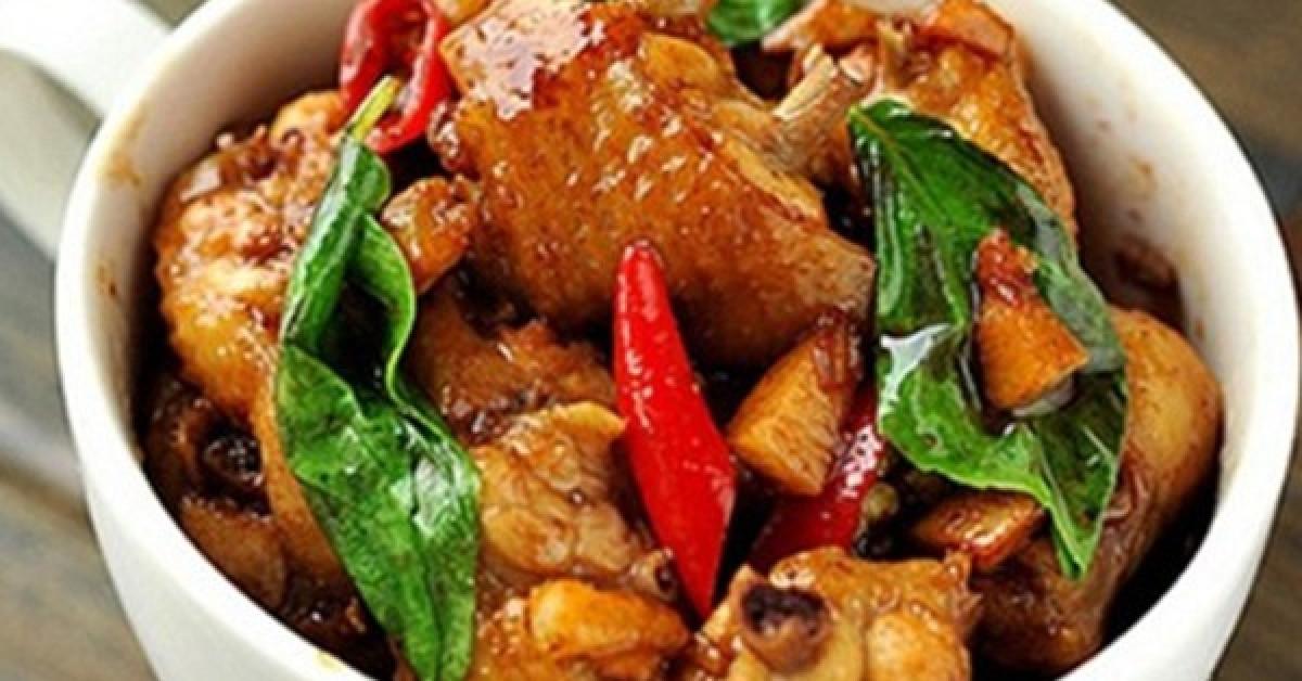 Thịt gà rang thêm chút lá này ngon xuất sắc, dậy mùi thơm, lạ miệng, hao cơm - 4