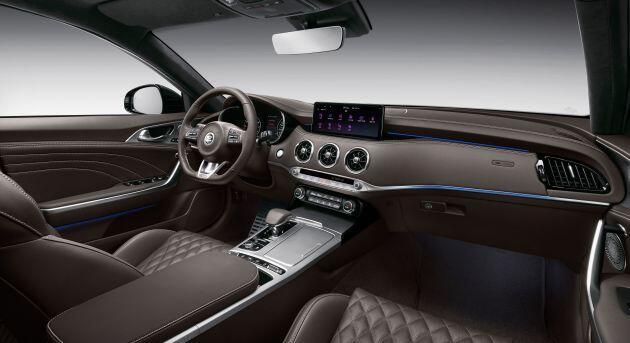 Kia Stinger GTS 2021 ra mắt, giá 1,34 tỷ đồng - 4