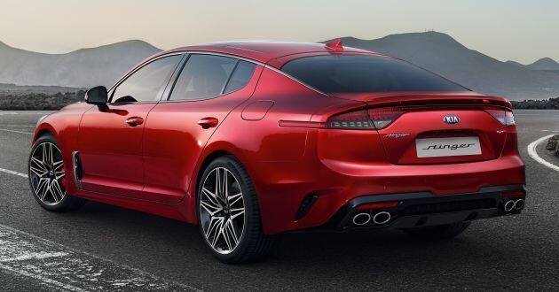Kia Stinger GTS 2021 ra mắt, giá 1,34 tỷ đồng - 6