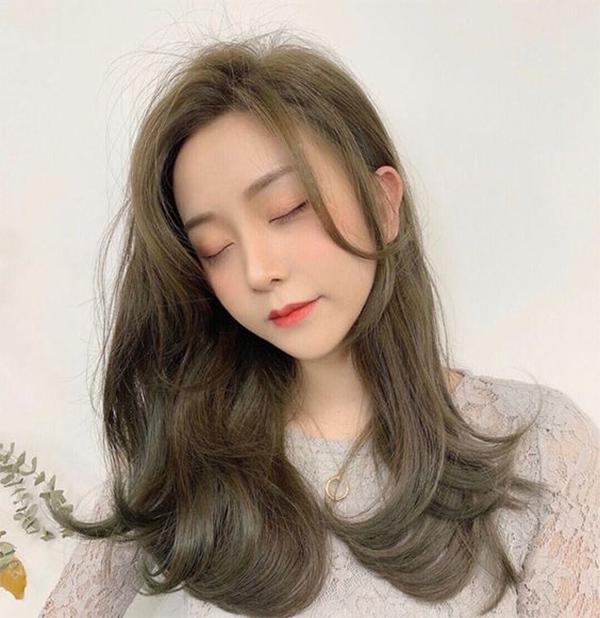 25 Màu tóc nâu tây rêu, lạnh đẹp giúp tôn da HOT nhất năm 2021 - 1