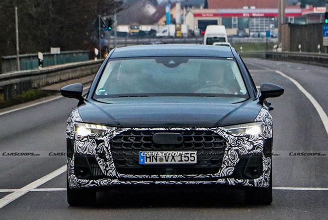 Audi A8 phiên bản mới lộ diện trên đường thử - 1