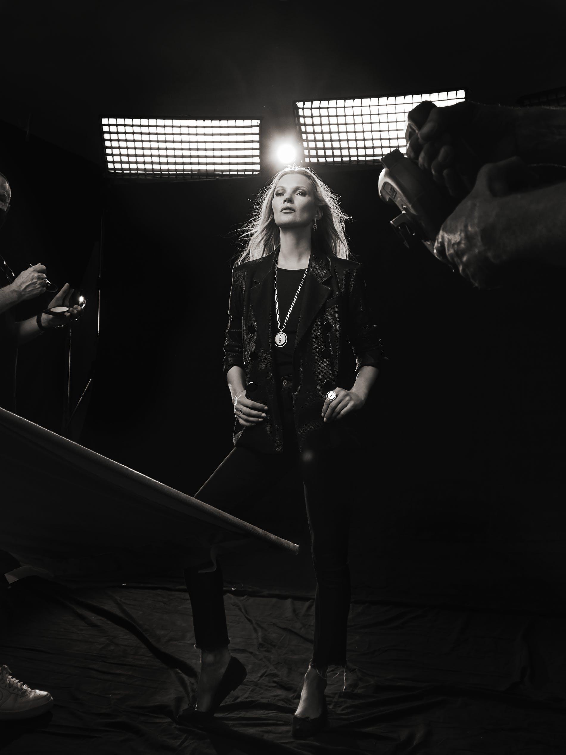 Kate Moss và dự án đầu tiên trong thế giới trang sức - hình ảnh 2