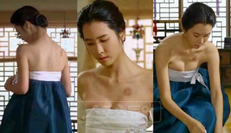 """Tân á hậu Hàn Quốc mặc hanbok hở nửa ngực nhưng không bị """"ném đá"""" - hình ảnh 6"""