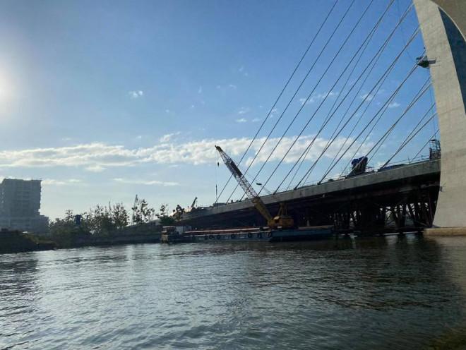 Ngắm hình hài cầu Thủ Thiêm 2 từ sông Sài Gòn - 2