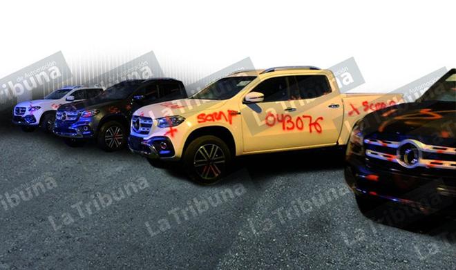 Lô 125 xe bán tải Mercedes-Benz cuối cùng bị đem đi nghiền nát - 1