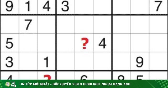 Sudoku thử thách siêu trí tuệ