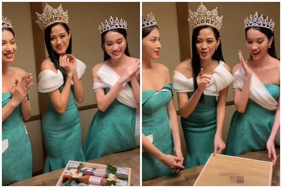 """Hoa hậu Đỗ Thị Hà cũng có """"điểm chết"""" vóc dáng khó che giấu - 2"""