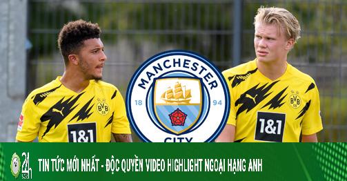 Sững sờ Sancho sẽ giúp Man City vượt MU giành bom tấn Haaland thế nào?