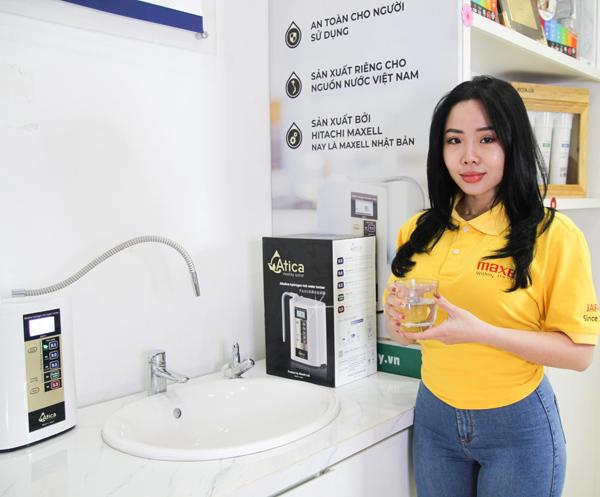 Mua máy lọc nước ion kiềm Nhật Bản nhận trợ giá 20 triệu từ Hitachi Maxell - 1
