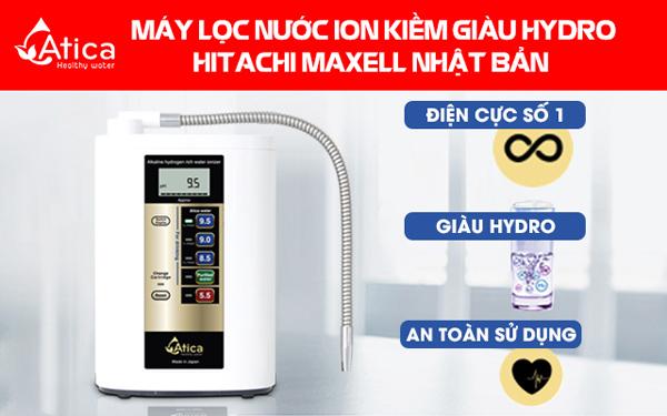 Mua máy lọc nước ion kiềm Nhật Bản nhận trợ giá 20 triệu từ Hitachi Maxell - 4