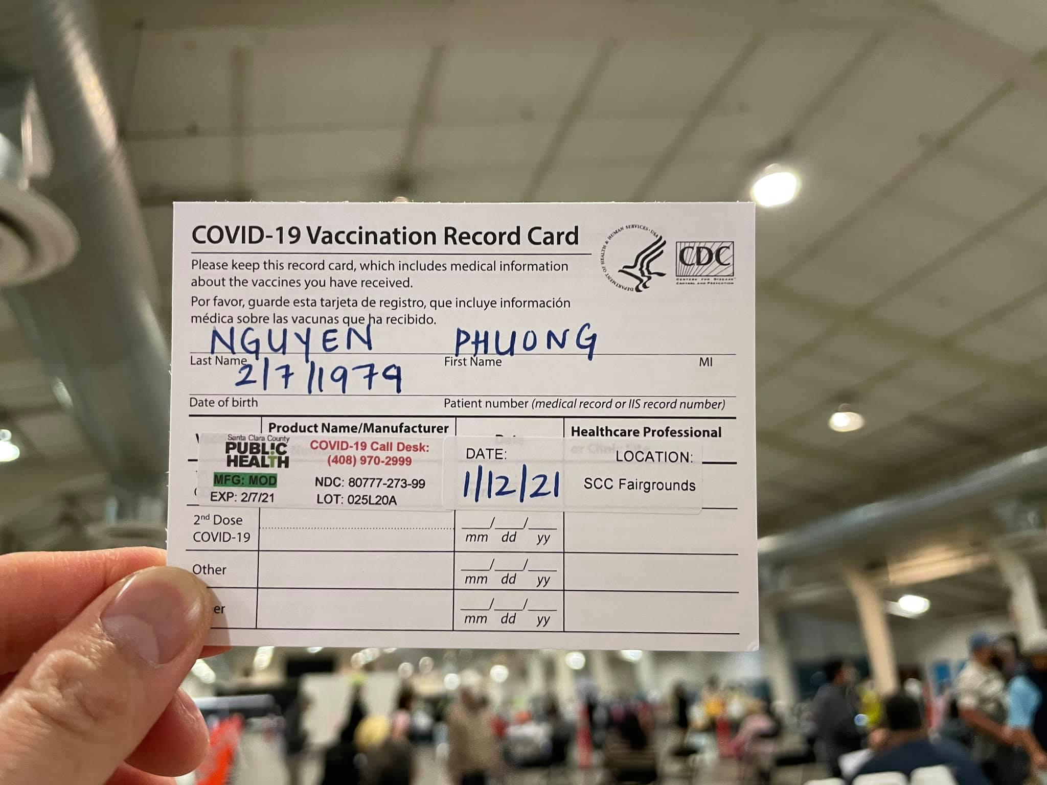 Nghệ sĩ Việt đầu tiên được tiêm vắc-xin ngừa Covid-19 tại Mỹ là ai? - 3