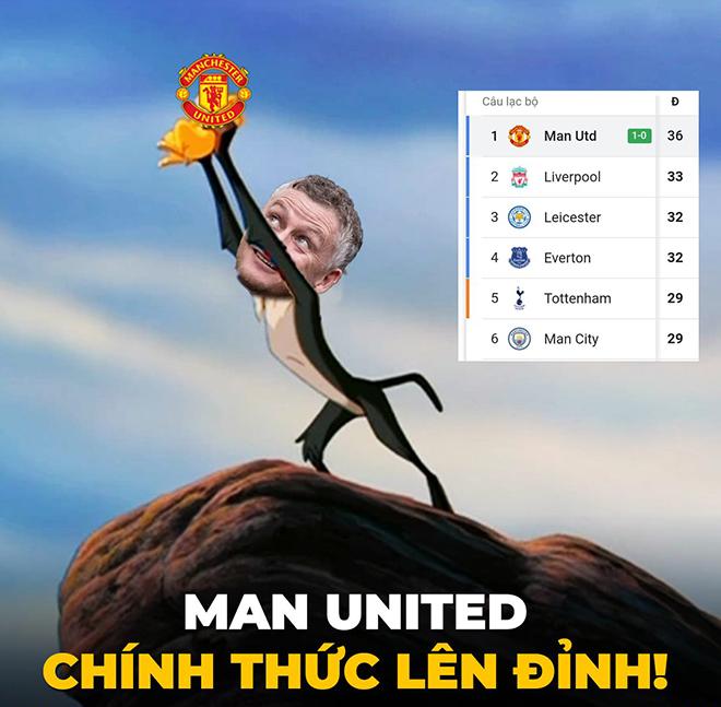 """Ảnh chế: Man Utd """"lên đỉnh"""" ngoại hạng Anh, fan mơ chức vô địch - 2"""