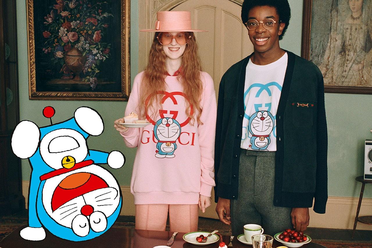 Đến lượt mèo máy Doraemon bước vào thế giới thời trang cùng Gucci - hình ảnh 1