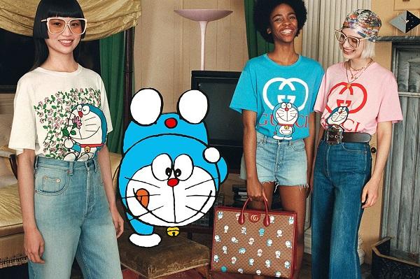 Đến lượt mèo máy Doraemon bước vào thế giới thời trang cùng Gucci - hình ảnh 2