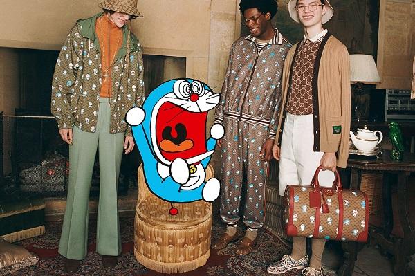 Đến lượt mèo máy Doraemon bước vào thế giới thời trang cùng Gucci - hình ảnh 3