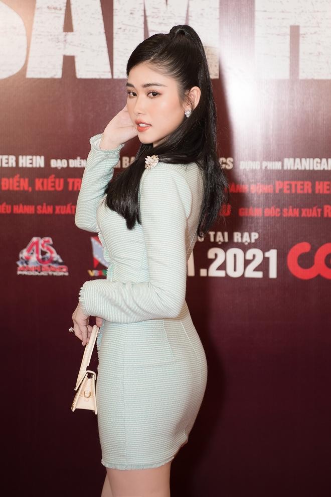 """Hoa hậu đất Mũi tỏa sáng trên thảm đỏ, """"không mặc hở vẫn thừa sexy"""" - hình ảnh 9"""