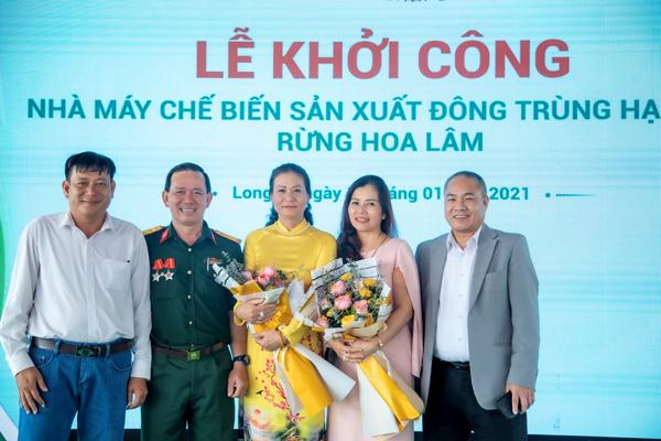 Khởi công Nhà máy đông trùng hạ thảo Hoa Lâm tại Long An - 2