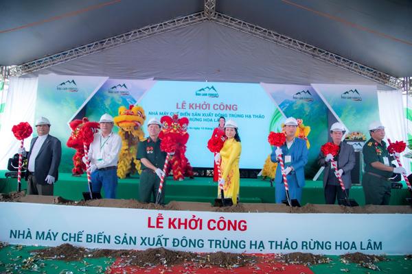 Khởi công Nhà máy đông trùng hạ thảo Hoa Lâm tại Long An - 3