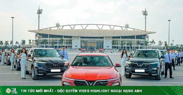 Gần 30.000 xe Vinfast đến tay khách hàng Việt trong năm 2020