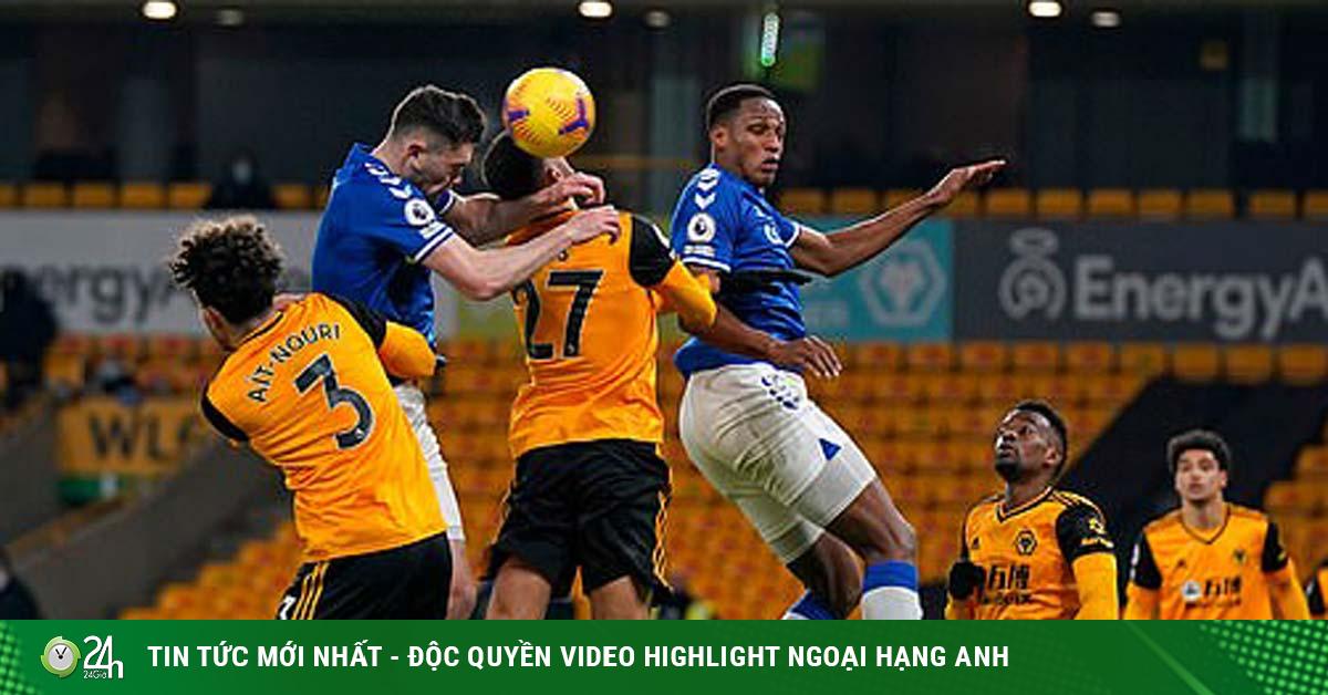 Video Wolves - Everton: Ăn miếng trả miếng, khác biệt ở trung vệ