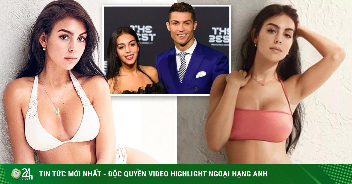 Ronaldo mơ phá dớp đấu Inter Milan, bạn gái diện nội y đẹp nhức mắt