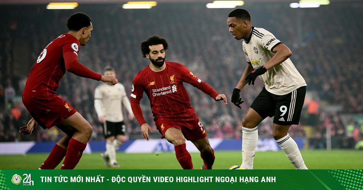 Derby bóng đá Anh tranh ngôi vua, Liverpool đấu MU vòng 19 Ngoại hạng Anh