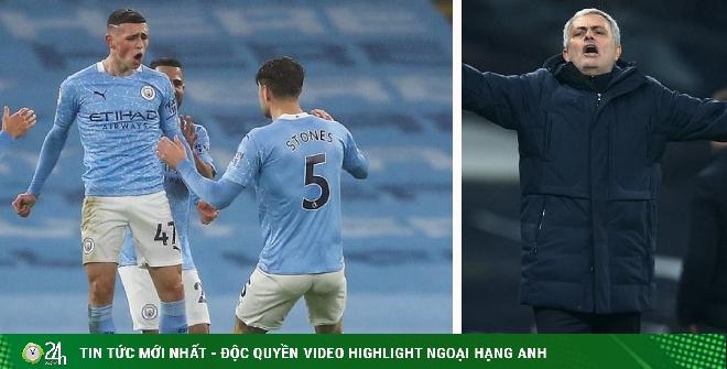 Kịch tính bảng xếp hạng Ngoại hạng Anh: Man City đe dọa Liverpool, Tottenham lỡ top 4