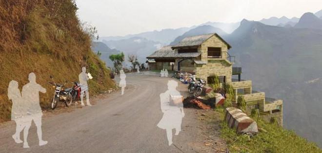 Bề thế sau cải tạo, công trình Panorama Mã Pì Lèng tiếp tục phải chỉnh sửa - hình ảnh 2