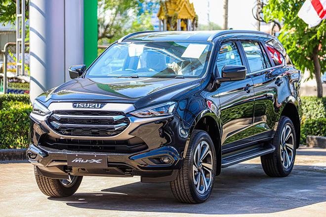 Isuzu mu-X 2021 sắp ra mắt tại Việt Nam, lột xác đấu Toyota Fortuner