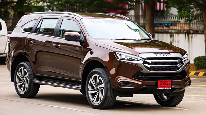 """Isuzu mu-X 2021 sắp ra mắt tại Việt Nam, """"lột xác"""" đấu Toyota Fortuner - 2"""