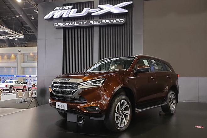 """Isuzu mu-X 2021 sắp ra mắt tại Việt Nam, """"lột xác"""" đấu Toyota Fortuner - 7"""